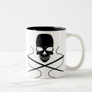 Skull and Needles-Coffee Mug
