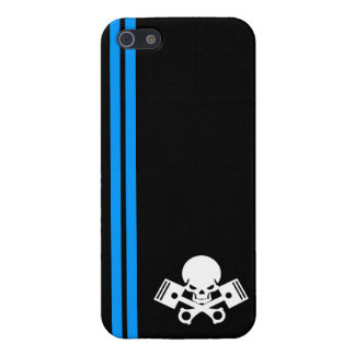 Skull and piston car cool motorcycle muscle car en iPhone 5 cases
