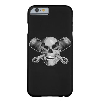 Skull and Pistons v2 Barely There iPhone 6 Case