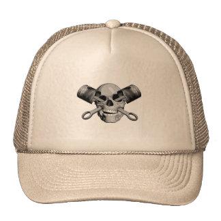 Skull and Pistons v2 Trucker Hat