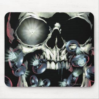 Skull and Rings - Color Mouse Pad