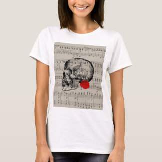 Skull and rose T-Shirt