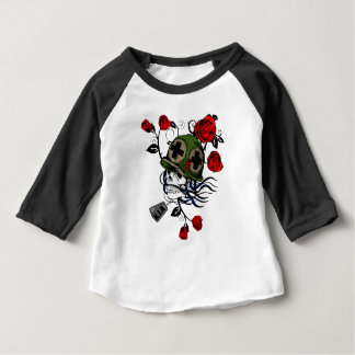 Skull And Roses Baby T-Shirt