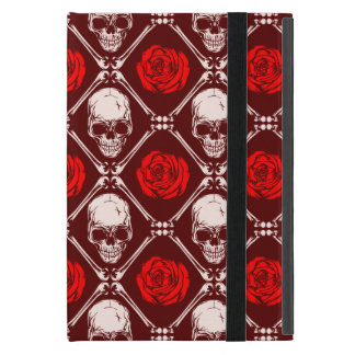 skull and roses cover for iPad mini