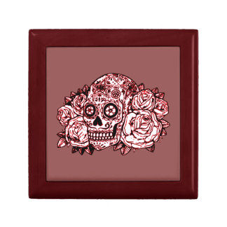 Skull and Roses Gift Box