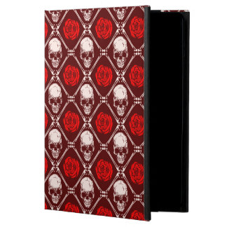 skull and roses iPad air cover