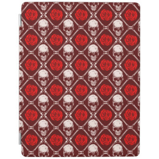 skull and roses iPad cover