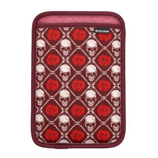 skull and roses iPad mini sleeve