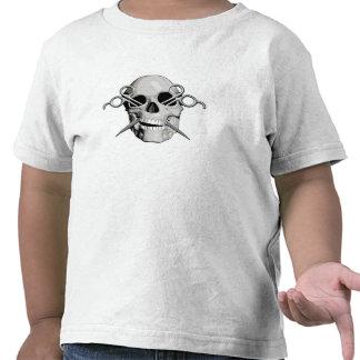 Skull and Scissors v3 T-shirt
