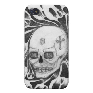 Skull and souls images iPhone 4/4S cover