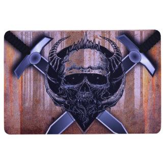 Skull and Swords Floor Mat