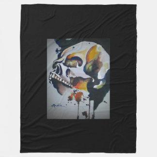 Skull Art Blanket