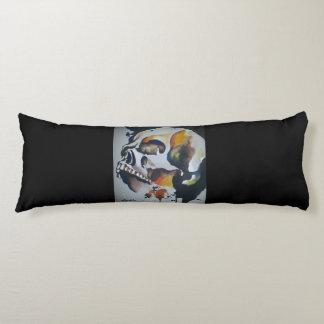 Skull Art Body Pillow
