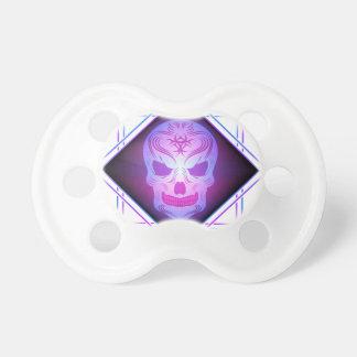 skull art pacifier