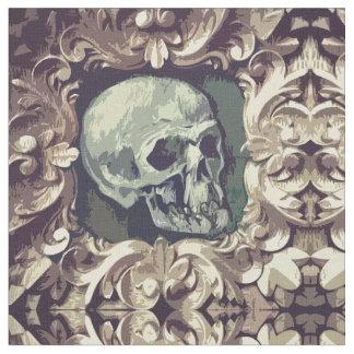 Skull Artwork Illustration Fabric