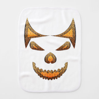 Skull Baby Burp Cloth