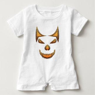 Skull Baby Romper