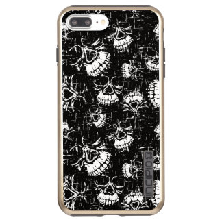 skull background incipio DualPro shine iPhone 8 plus/7 plus case