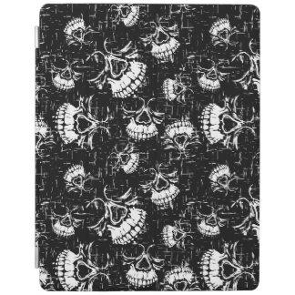 skull background iPad cover