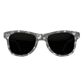 skull background sunglasses