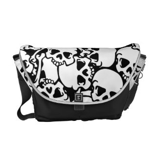 Skull bag 2 messenger bag