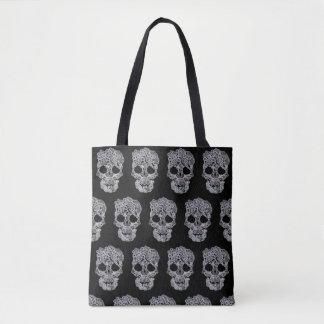 Skull bag. tote bag