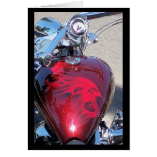 Skull Bike Card