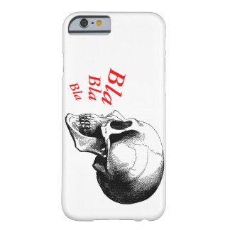Skull Bla Bla Bla Radiation iPhone 6/6s,Phone Case