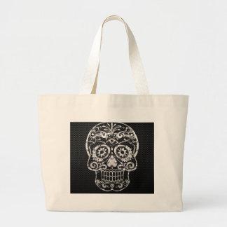 Skull black silver metal 04 bags