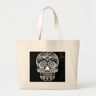 Skull black white04 bags