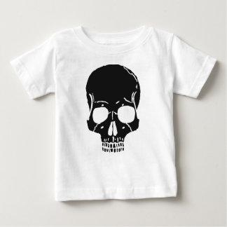 Skull Bone Bones Skeleton Skeletal Creepy Spooky Baby T-Shirt