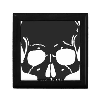 Skull Bone Bones Skeleton Skeletal Creepy Spooky Gift Box