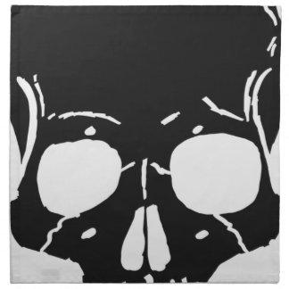 Skull Bone Bones Skeleton Skeletal Creepy Spooky Napkin