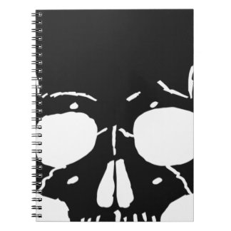 Skull Bone Bones Skeleton Skeletal Creepy Spooky Notebooks