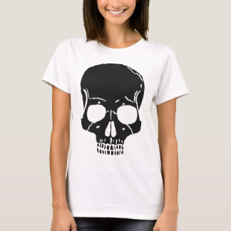 Skull Bone Bones Skeleton Skeletal Creepy Spooky T-Shirt