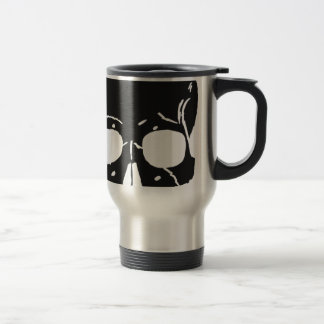 Skull Bone Bones Skeleton Skeletal Creepy Spooky Travel Mug