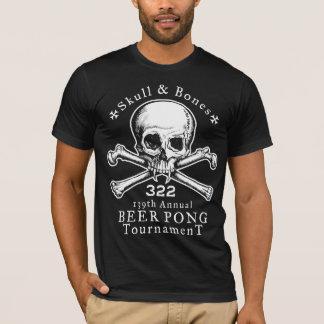 Skull & Bones Beer Pong Tournament T-Shirt