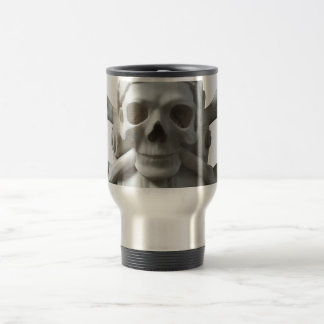 Skull & Bones Pirate Drinking Mug