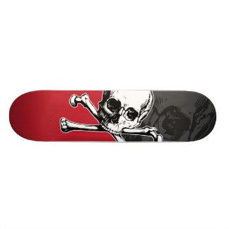 Skull & Bones Skate Board