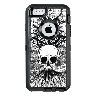Skull & Books OtterBox Defender iPhone Case