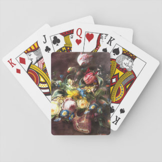 Skull Bouquet Playing Cards