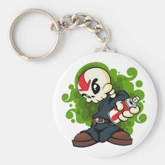 Skull Boy Keychain