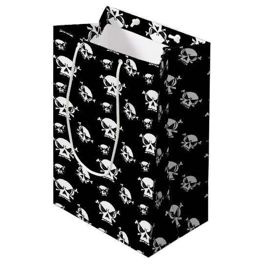 Skull Boys Medium Gift Bag