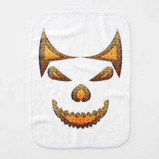 Skull Burp Cloth