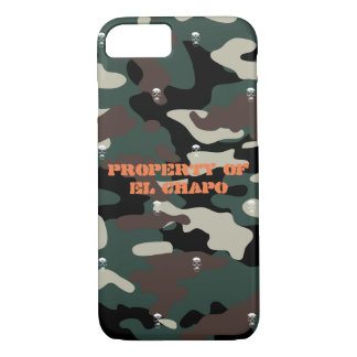 Skull Camo iPhone 8/7 Case