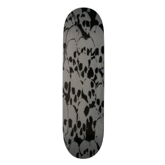 Skull Camouflage Skate Board Deck
