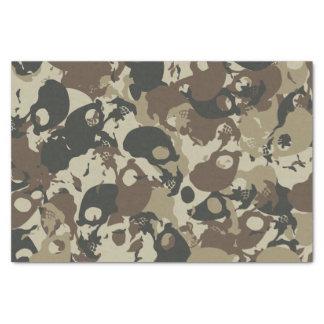 Skull camouflage tissue paper