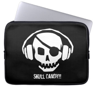 Skull candy sleeve for laptops.