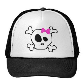 Skull cap...sort of trucker hat