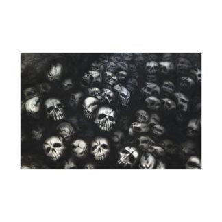 Skull cape nationale toiles tendues sur châssis